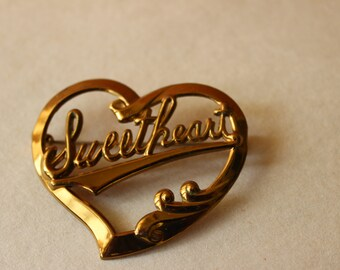 Vintage Sweetheart Pin
