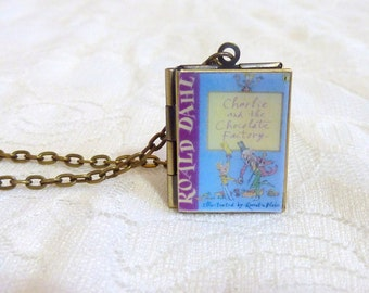 Charlie and the Chocolate Factory Story Locket