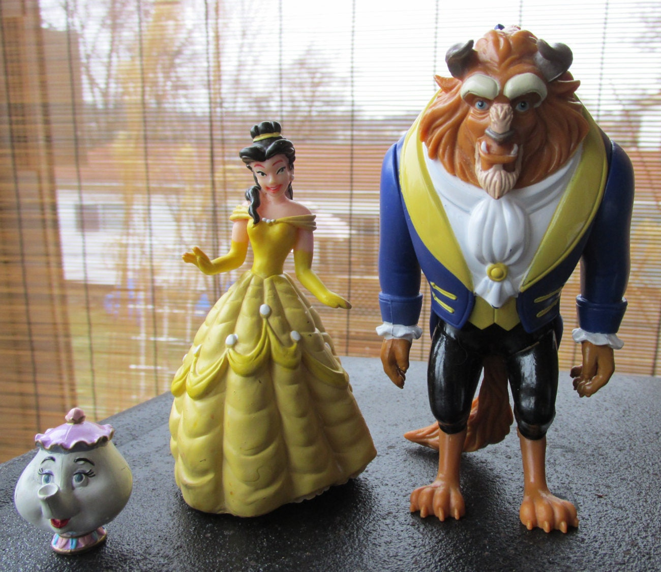 Beauty And The Beast Figure Vintage Disney Character Figurines
