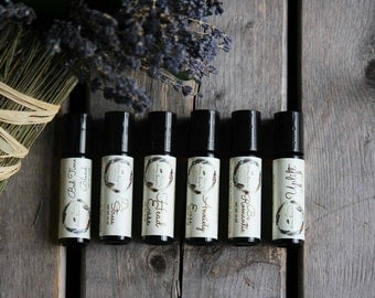 Essential Oil Roller - Aromatherapy Roll On - Rollerbottle - Aromatherapy - Aromatherapy Rollerball - Aromatherapy Blend - Natural Perfume