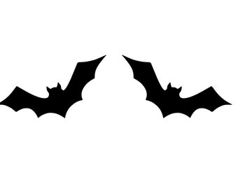 Bat Halloween Decal | Halloween Window Decal | Halloween Sticker | Die-Cut