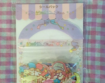 Sanrio Little Twin Stars Sticker Sack