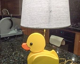 Baby's Room Duckie Lamp