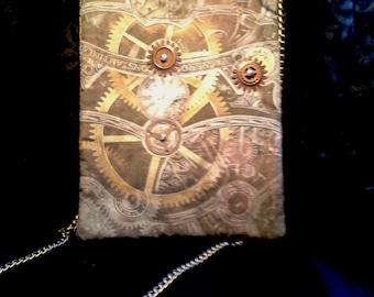 Small Copper Gears Handbag
