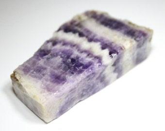 Chevron Amethyst rough lapidary stone   (0055)