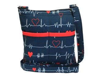 Calling All Nurses Crossbody Bag // Crossbody Purse // Shoulder Bag // Hipster