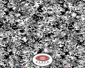 "Digital Snow 15""x52"" or 24""x52"" Truck/Pattern Print Tree Real Camouflage Sticker Roll or Sheet"