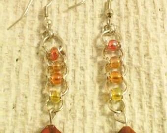 chainmaile earrings