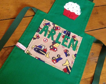 Handmade Personalised Children's Apron