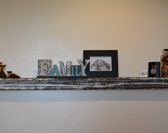 Reclaimed Up-cycled Wood Shelf