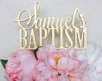 Baptism Cake Topper Cake Topper Personalised Cake Toppers Baptism Cake Topper Religious Cake Topper Cake Decorations Personalized Baptism