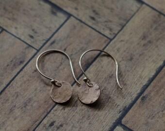 Minimalist Rose Gold Earrings