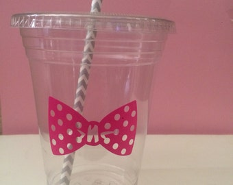 Bow Party Cups