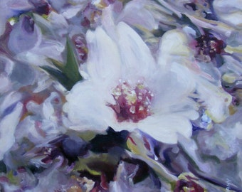 Oil painting, original painting, gallery art,floral artprint, contemporary painting, prints, art online, home gallery, Nurit Shany Art