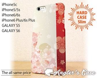 iPhone5 case iPhone5s case iPhone6 case iPhone6s case iPhone6 Plus  case iPhone6s Plus case GALAXY case Red-and-white cherry tree