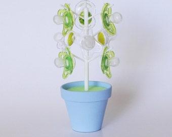 Pacifier Holder - BinkieTree - Baby Blue - Baby Shower Gift - Nursery Decor