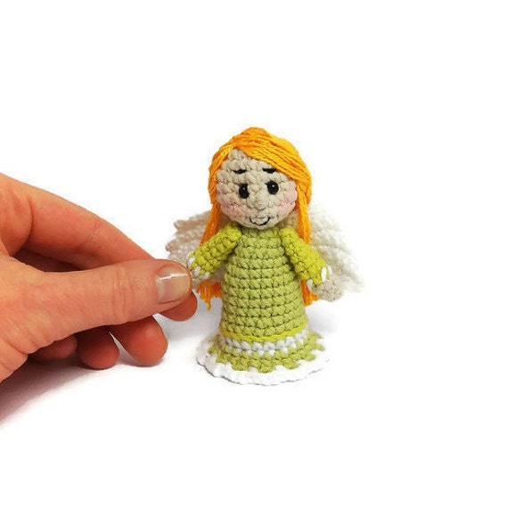 Crochet Angel Home decor Angel doll Angel gifts by BotenaToys