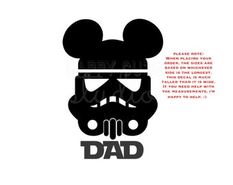 Personalized Star Wars Storm Trooper Mickey Minnie Mouse Matching Family Disney Vacation Disney Iron On Decal Vinyl for Shirt 042