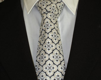 Mens Necktie, Mens Tie, White Necktie, White Tie, Black Necktie, Black Tie, Wedding, Bride, Fathers Day, Dad, Gift, Father, Formal, Classic