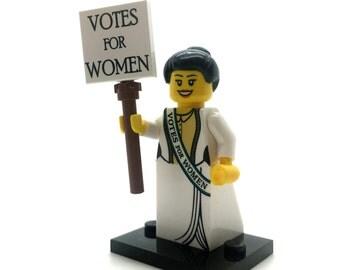 Lego Suffragette Alice Minifig