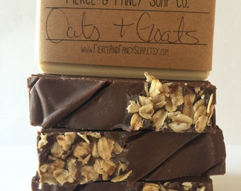 OATS & GOATS Soap | Handmade Soap | Cold Process Soap | Goats Milk Soap | Oatmeal Soap | Homemade Soap