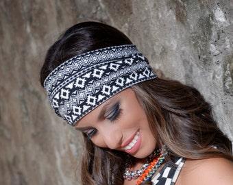 Yoga Headband, Boho Headband, Womens Headband, Workout Headband, Wide Headband, Womens Headwraps, Running Headband, Adult Headband, Hippie