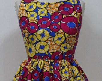 Dashiki ankara wax African print top