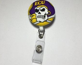 ECU badge reel