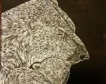 Polar Bear Original Painting