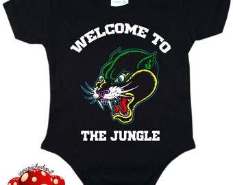 body baby WELCOME to THE JUNGLE