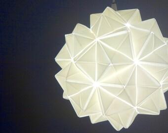 Handmade, Modern, Origami-inspired Lamp/Lighting