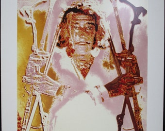 MARC LACROIX, Original Cibachrome Photo, Six Canes Dali, Signed Numbered #1, FREE Shipping