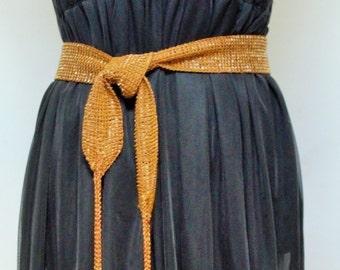 Vintage Belt Handbeaded Sash Style