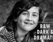 BW Dark & Dramatic Lightroom Presets for Adobe Lightroom 4, Lightroom 5, Lightroom 6 and Creative Cloud