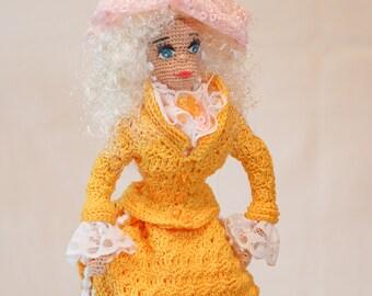 Doll handmade Elizabeth