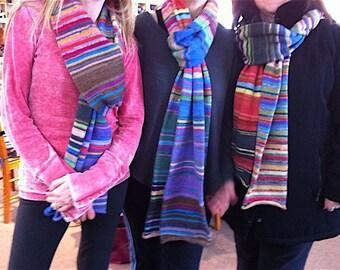 Sock Scarf Knitting Kit - includes Yarn & Pattern