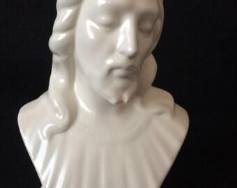 Jesus ceramic bust
