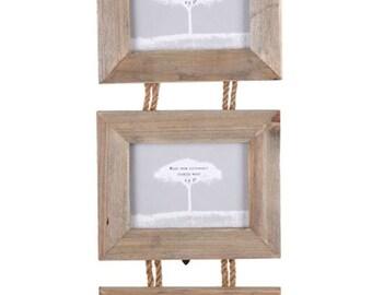 Triple Driftwood Frame