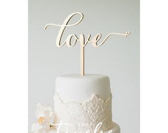 Cake Topper: Love