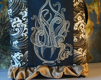 Tentacle Teacup Tote Bag (Free Shipping)