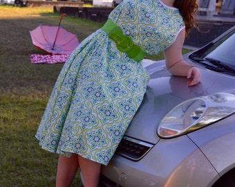 vintage dress, vintage dress patterns, vintage clothing, rockabilly dress, 50s vintage, pin up, wrap dress, 1950s style dress