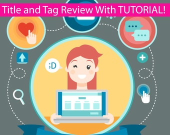 Title and Tag Review and Tutorial - Title and Tag Tutorial- Title and Tag Service - Title Writing - Tag Writing - SEO - Title and Tag Help
