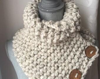 Wheat Knit Collar