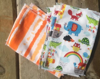 Reusable baby wipes, baby wipes, cloth wipes, family cloth, baby shower, neutral baby, wipes