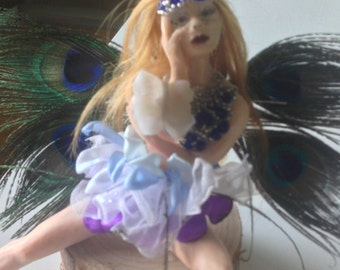 Pondering Fairy with Butterfly