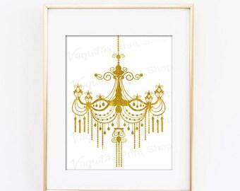 Chandelier Wall Art chandelier wall art | etsy