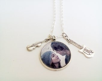necklace If I Stay - Adam and Mia necklace