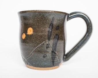 Stoneware Ceramic Mug: Odyssey Series, Medium