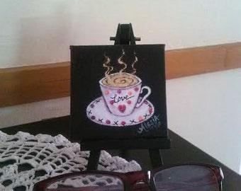Tiny tea cup of love