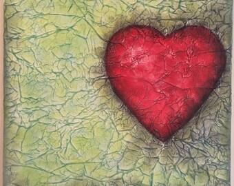 Bleeding Heart in pastels